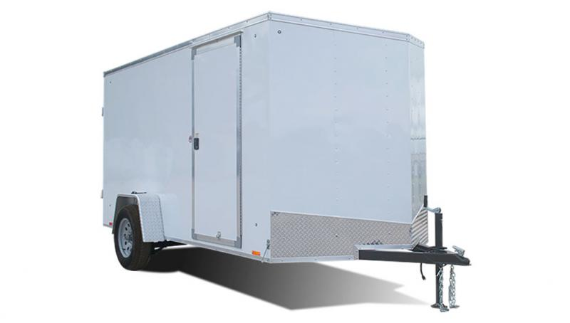 2020 Pace American 6X10 Outback W/ Rear Ramp Door Enclosed Cargo Trailer