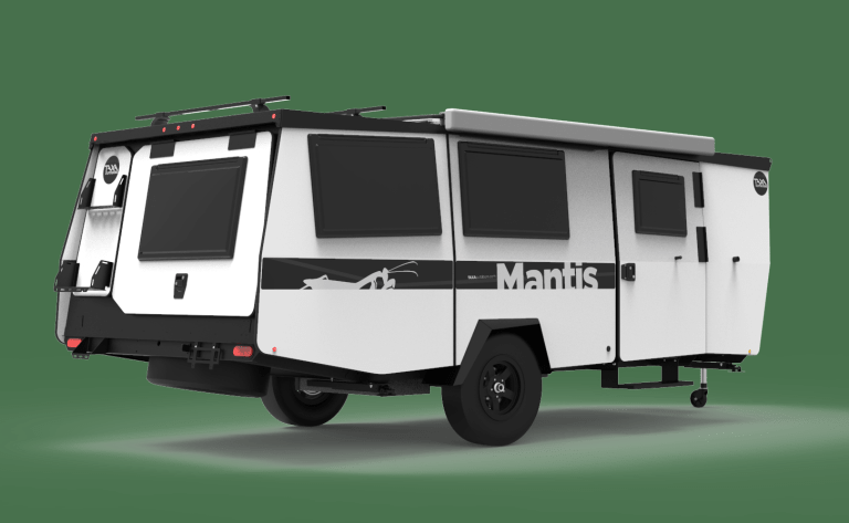 2021 Taxa Outdoors Mantis W/ Folding Couch/Bunk Bed System and Wet Bath w/shower and Cassette Toilet