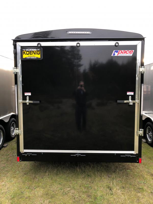 2021 Pace American 7x16 Enclosed Cargo Trailer W/ Additional Height