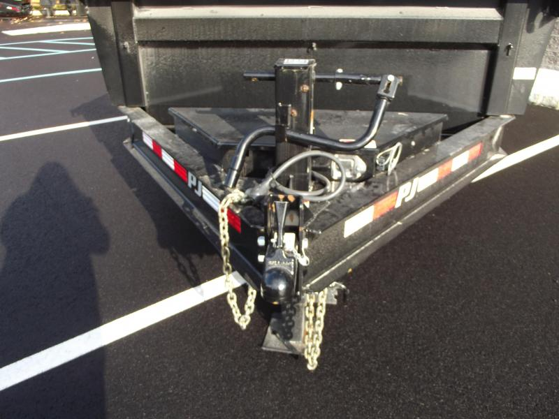 2020 PJ Trailers 83 in. Low Pro Dump (DL) 162 Dump Trailer