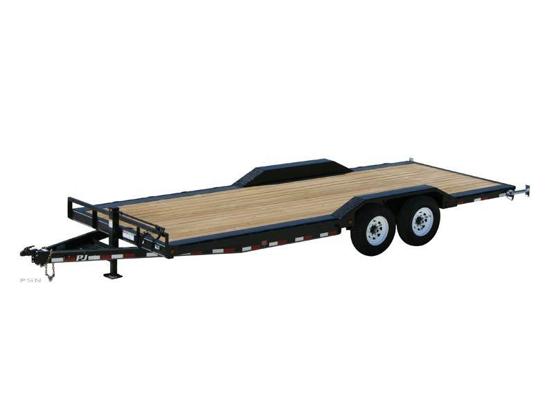 2021 PJ Trailers 6 in. Channel Super-Wide (B6) Equipment Trailer