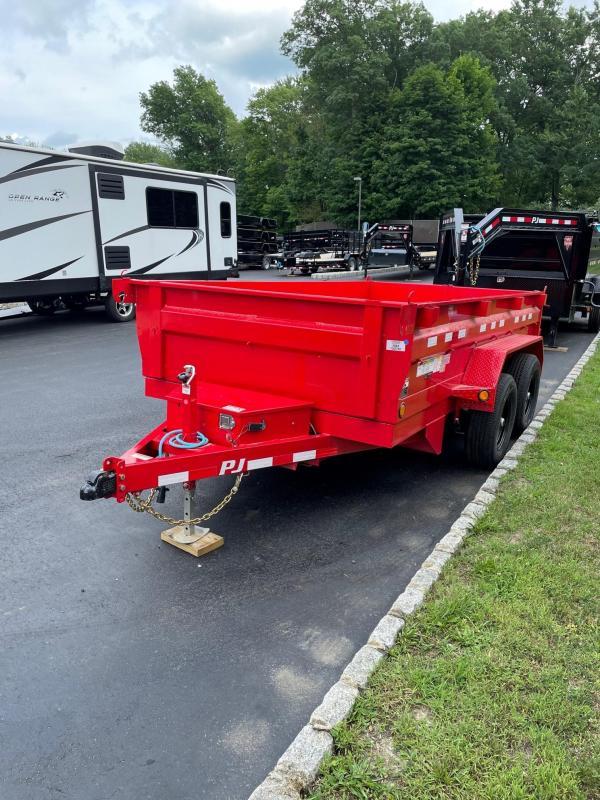 2022 PJ Trailer Dump (D3122) (12ft)
