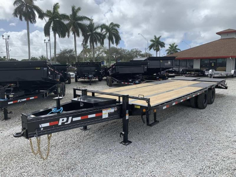 2021 PJ Trailers Low-Pro Pintle with Duals (PL) Flatbed Trailer