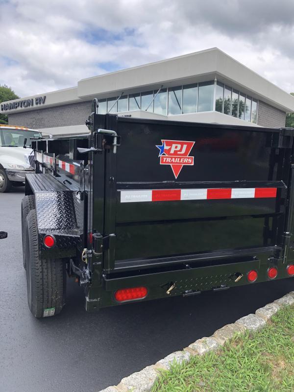 2022 PJ Trailers DL122 Dump Trailer (12ft)