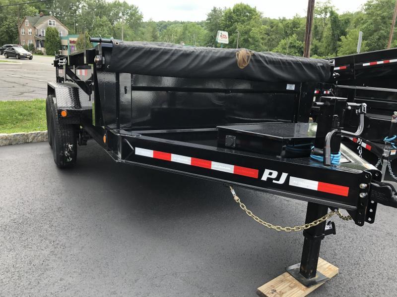 2021 PJ Trailers DL122 Dump Trailer 6x12