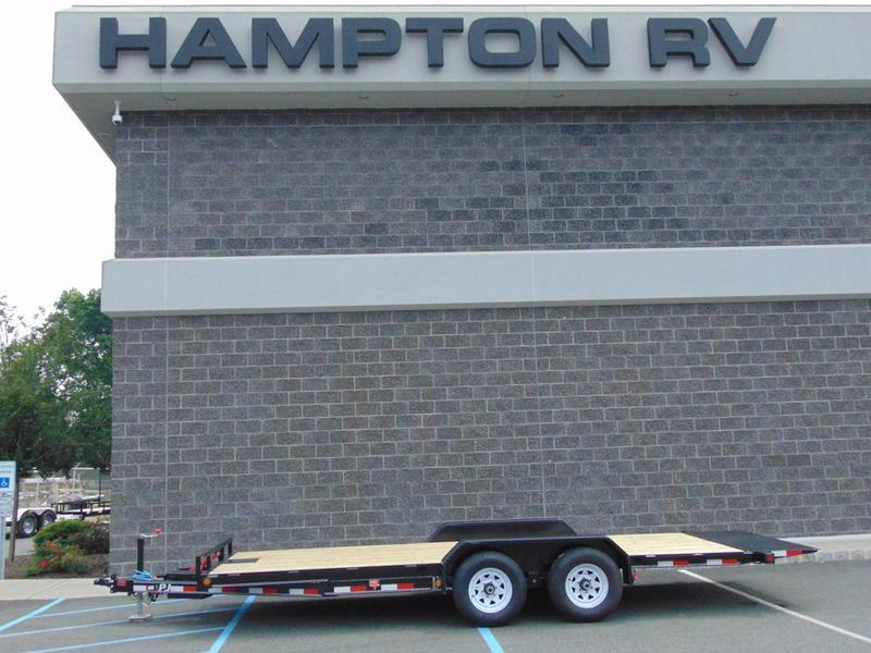2021 PJ Trailers 83 in. Hydraulic Quick Tilt (TH) Equipment Trailer