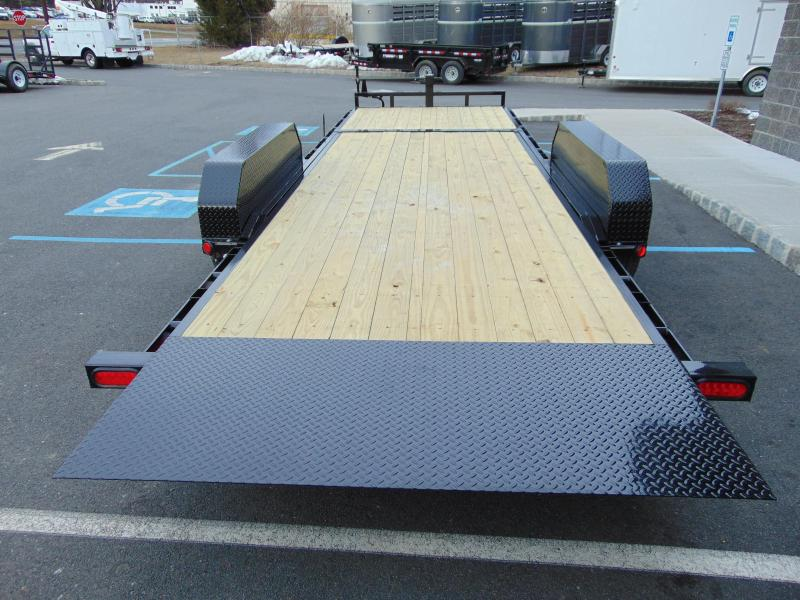 2021 PJ Trailers 20 x 6 in. Channel Equipment Tilt (T6) Equipment Trailer