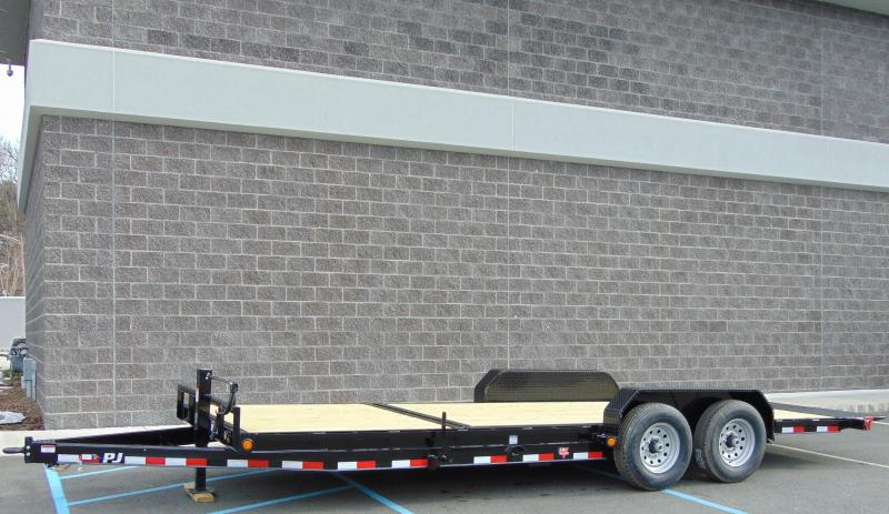 2021 PJ Trailers 20 x 6 in. Channel Equipment Tilt (T6) Equipment Trailer