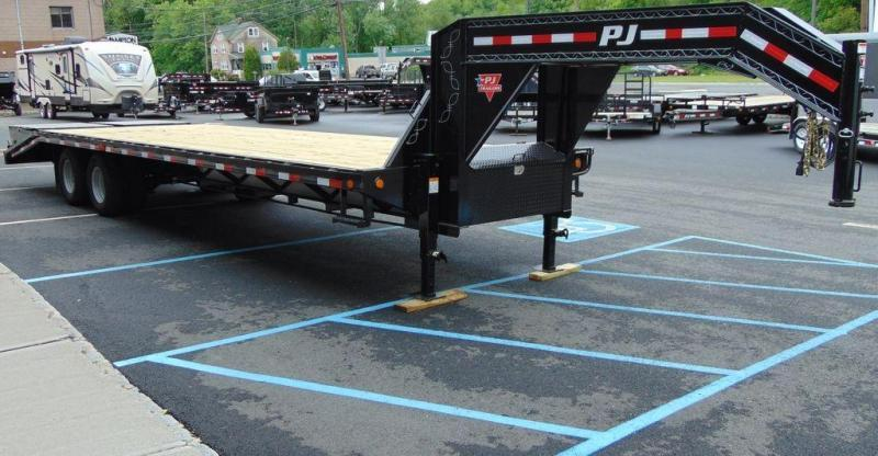 2020 PJ Trailers Classic Flatdeck with Duals (FD) Flatbed Trailer