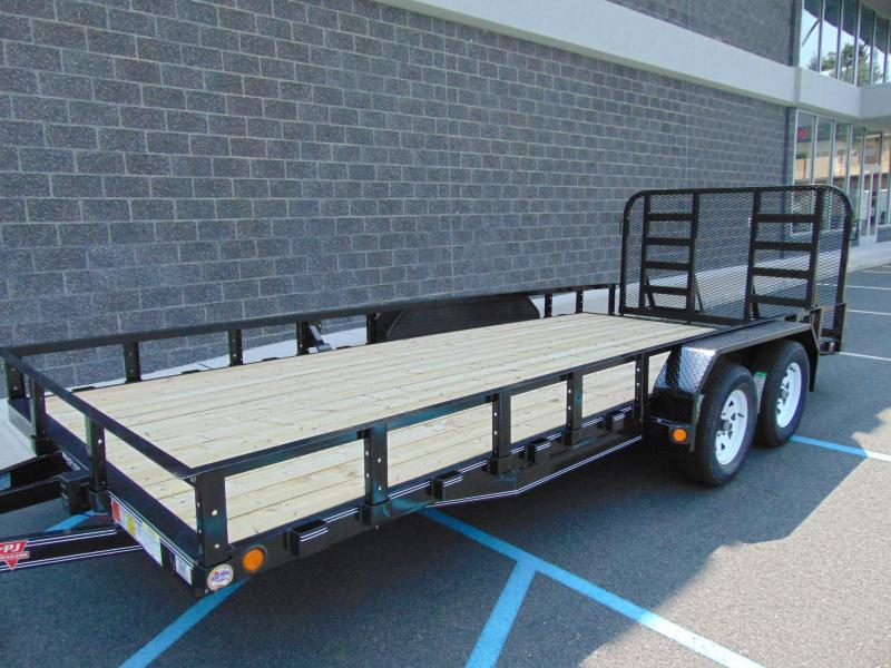 2021 PJ Trailers 20 x 83 in. Tandem Axle Channel Utility (UL) Utility Trailer