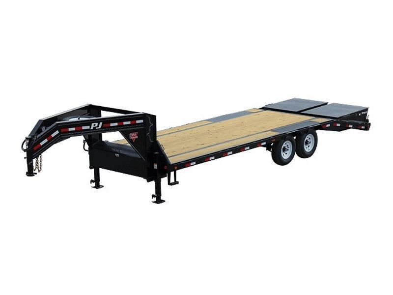 2020 PJ Trailers Low-Pro Flatdeck with Singles (LS) 30'