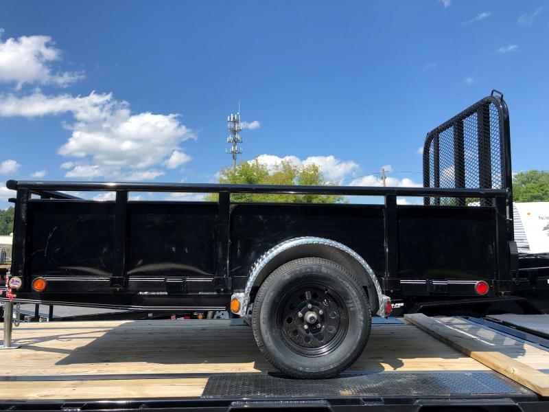 2020 PJ Trailers 60 in. Single Axle Channel Utility (U6) 101 Utility Trailer