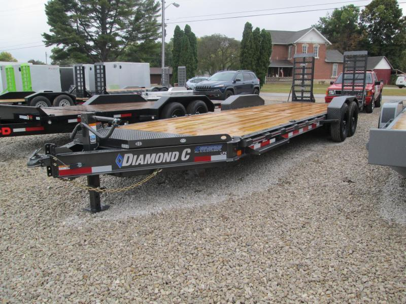 2021 Diamond C Trailers LPX207  6x20