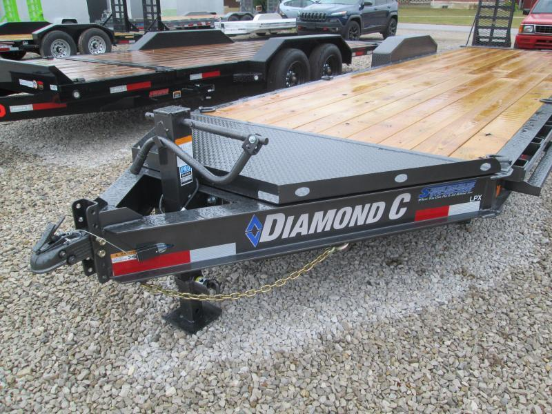2021 Diamond C Trailers LPX207 20x82 Equipment Trailer