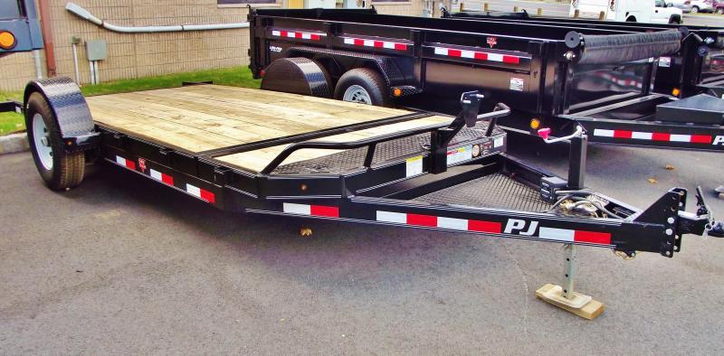 2020 PJ Trailers Single Axle HD Tilt (T1) Equipment Trailer