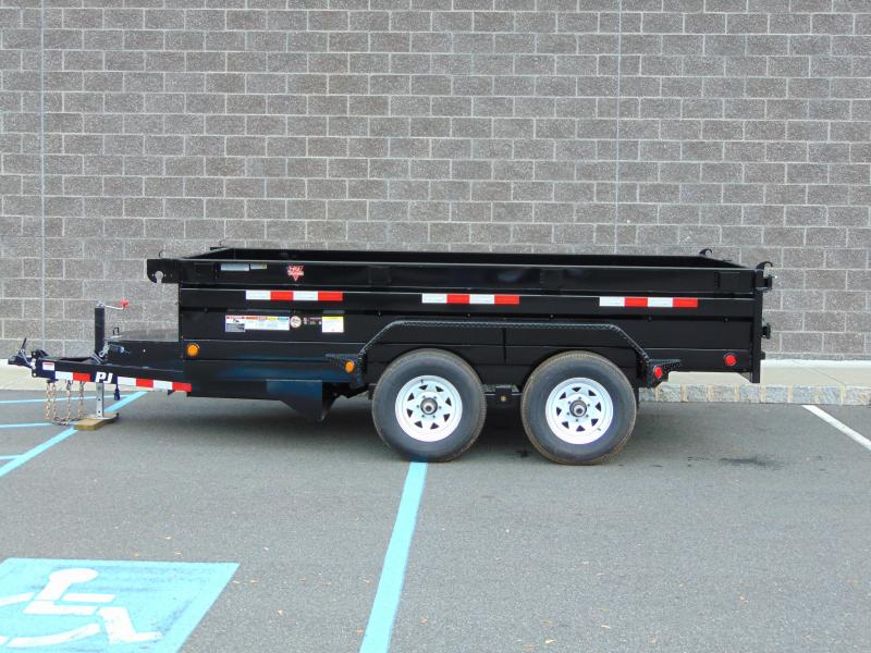 2021 PJ Trailers 72 in. Tandem Axle Dump (D3) Dump Trailer