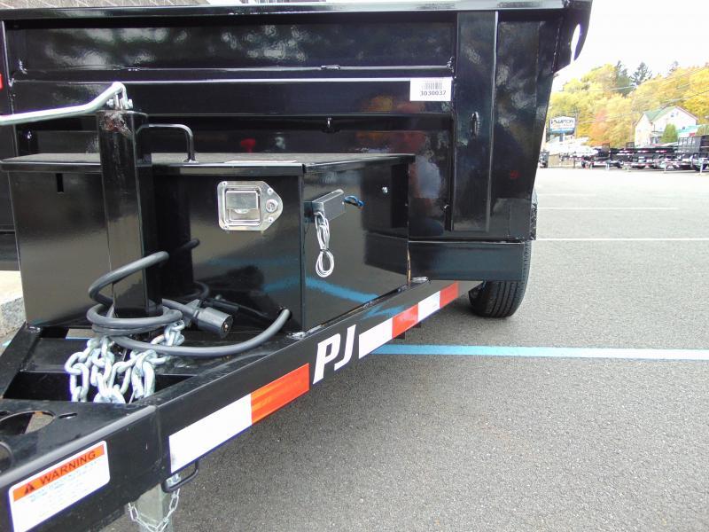 2020 PJ Trailers 60 in. Utility Dump (D5) 102 Dump Trailer
