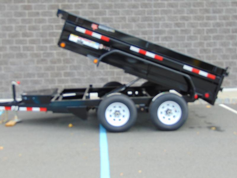 2021 PJ Trailers 60 in. Utility Dump (D5) 102 Dump Trailer