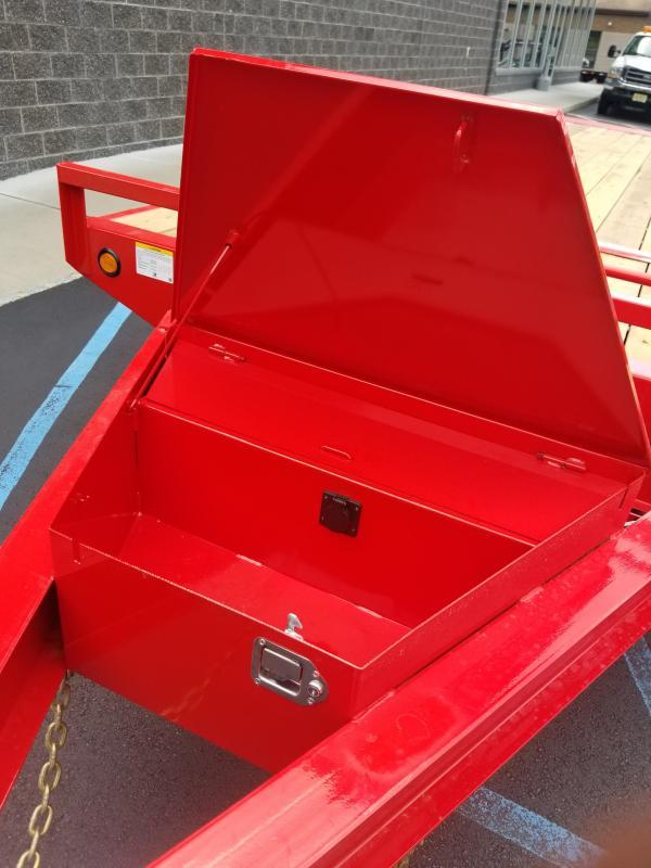 2022 PJ Trailers Deckover Tilt (T8) Equipment Trailer