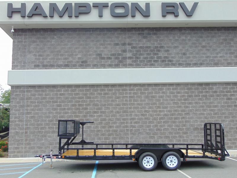 2020 PJ Trailers 83 in. Tandem Axle Channel Utility (UL) 222 Utility Trailer