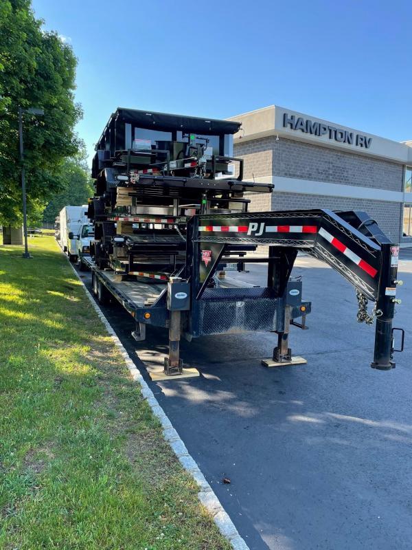 2019 PJ Trailers LY322 (32ft) Equipment Trailer