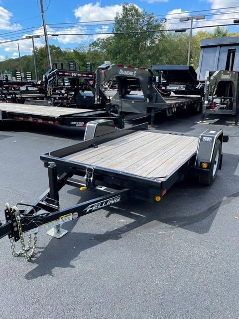 2020 Felling Trailers FT-6T-STK01 (12FT) Equipment Trailer