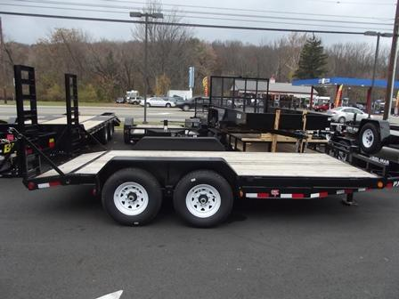 2021 PJ Trailers 6 in. Channel Equipment (CC) 162 Equipment Trailer
