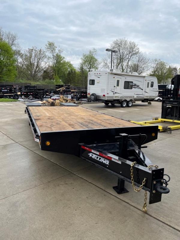 2022 Felling Trailers FT-16-2 (23ft) Equipment Trailer