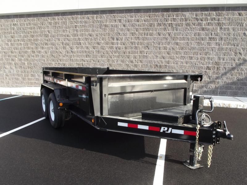 2020 PJ Trailers 83 in. Low Pro Dump (DL) 122 Dump Trailer