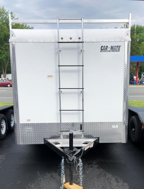 2020 Car Mate Trailers Contractor Trailer Enclosed Cargo Trailer