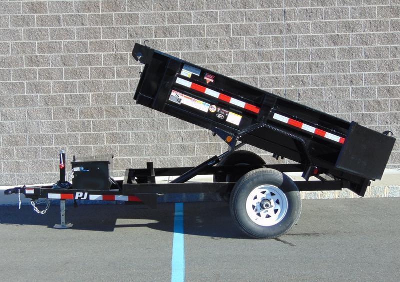2021 PJ Trailers D5081 (8ft) Dump Trailer