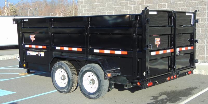 2020 PJ Trailers 83 Low Pro High Side Dump (DM) 162 Dump Trailer