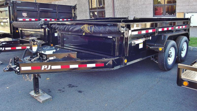 2021 PJ Trailers 14 ft 83 in. Low Pro Dump (DL) Dump Trailer