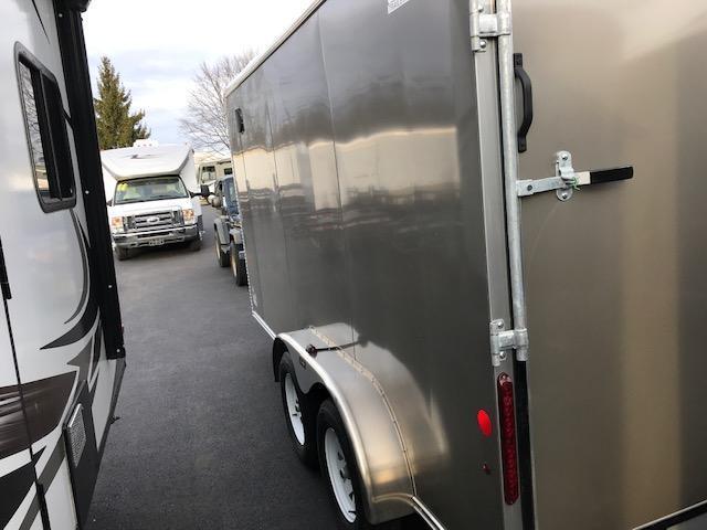 2021 Car Mate Trailers CM714CC-HD Enclosed Cargo Trailer