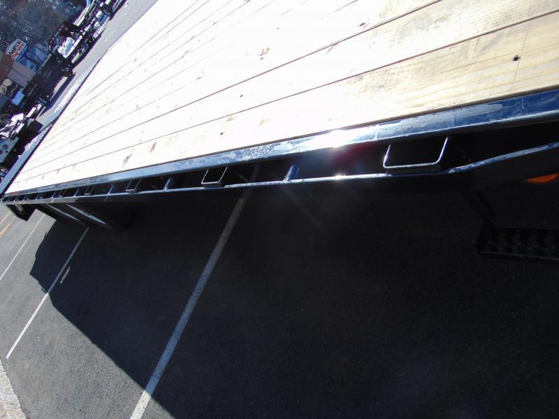 2021 PJ Trailers Low-Pro Flatdeck with Singles (LS) 252 Equipment Trailer