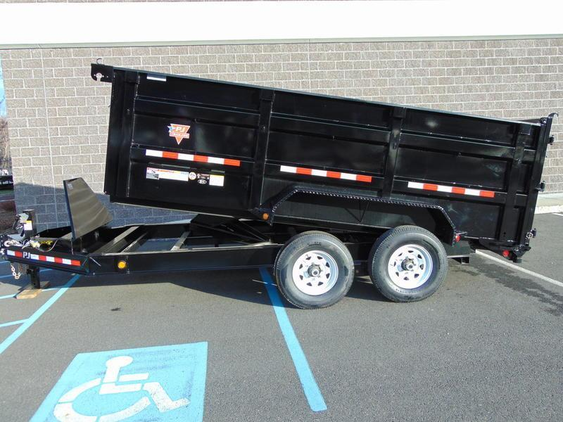 2020 PJ Trailers 83 Low Pro High Side Dump (DM) 122 Dump Trailer