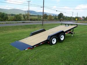 2019 PJ Trailers TH202 Flatbed Tilt Trailer