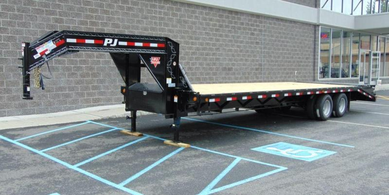 2020 PJ TrailerS Classic Flatdeck with Duals (FD) 25'