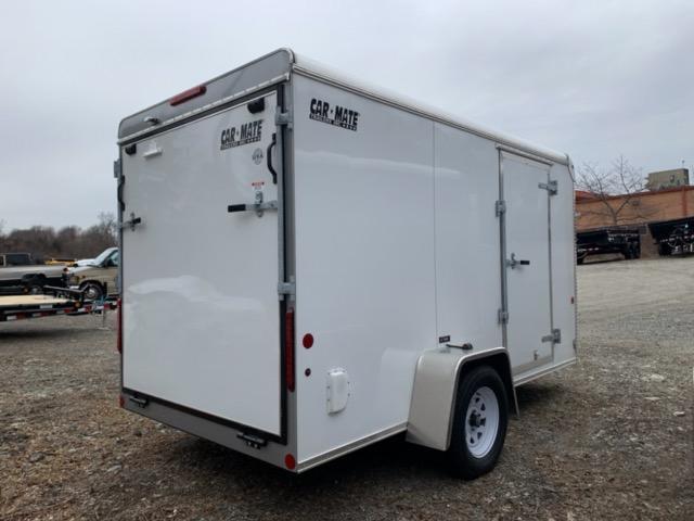 2021 Car Mate CM612CC Enclosed Cargo Trailer 6x12