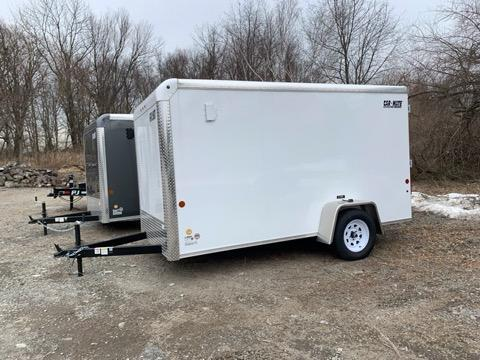 2021 Car Mate CM612CC Enclosed Cargo Trailer 6x12