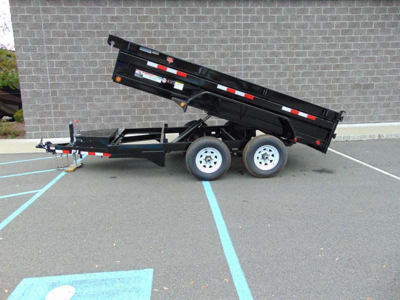 2021 PJ Trailers 72 in. Tandem Axle Dump (D3) 122 Dump Trailer