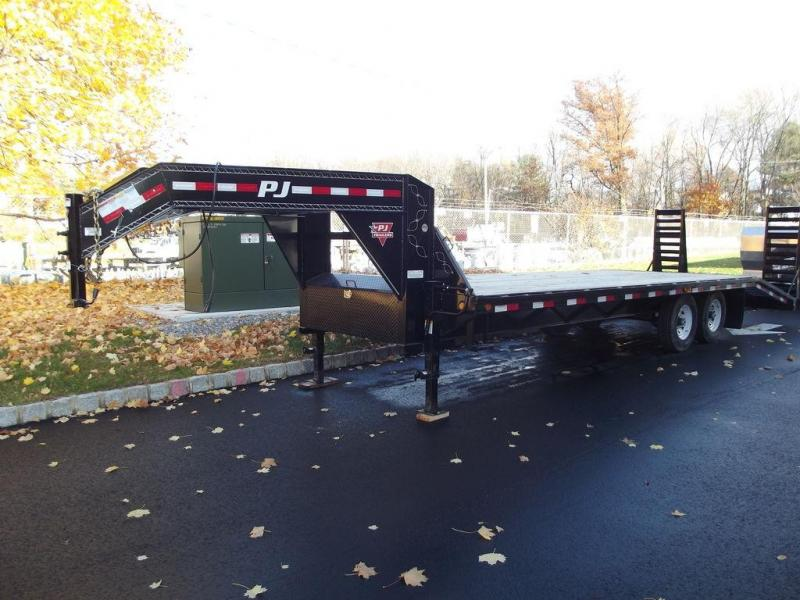 2020 PJ Trailers Low-Pro Flatdeck with Singles (LS) 25'