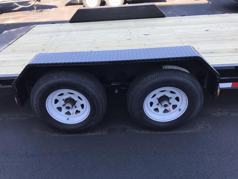 2021 PJ Trailers 5 in. Channel Equipment (CE182) 6x22