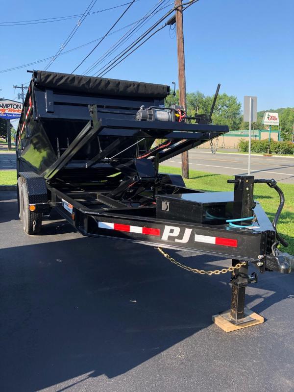 2021 PJ Trailers Rollster Roll Off Dump (DR) 142 Dump Trailer