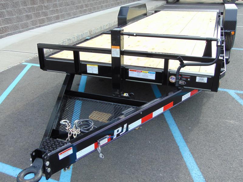 2021 PJ Trailers Flatbed Tilt T6222