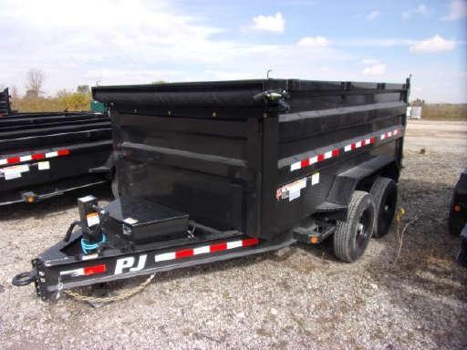 2021 PJ Trailers D3122 (12ft) Dump Trailer