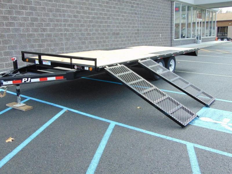 "2020 PJ Trailers Med. Duty Deckover 6"" Channel (L6) 18'"