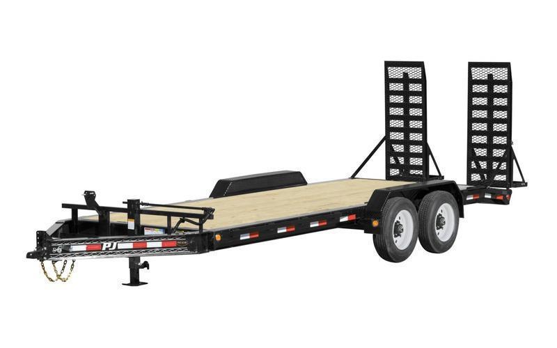 2021 PJ Trailers H4202 Equipment Trailer 7x20