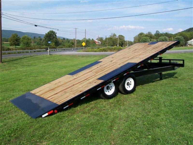 2021 PJ Trailers Deckover Tilt (T8) 222 Equipment Trailer