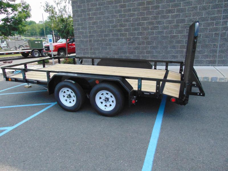 2020 PJ Trailers 83 in. Tandem Axle Channel Utility (UL) 162 Utility Trailer